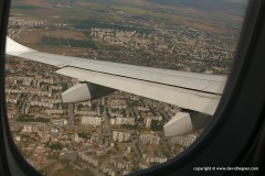 Landing in Sofia