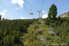 Chair-lift to Bezbog Hut