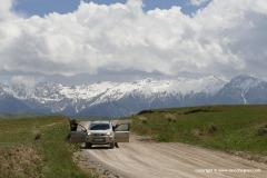 W of Kazarman