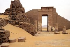 Dush Temple, Baris