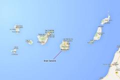 Gran Canaria location