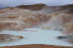 Sulfur pond