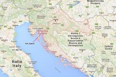 Location of Krk Is.