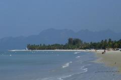 Mountainous island