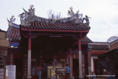 Snake Temple, Penang Is.