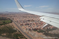 Flight to Morocco