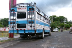 A bus to Managua