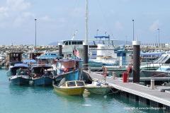 Tekek harbour