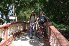 Tioman island cycling