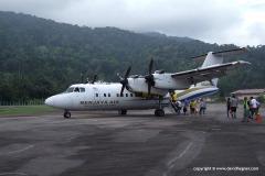 A flight to Tioman